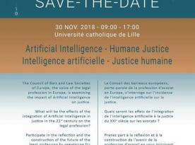 CCBE Conference / 30.11.2018, Lille (France) / Conférence du CCBE